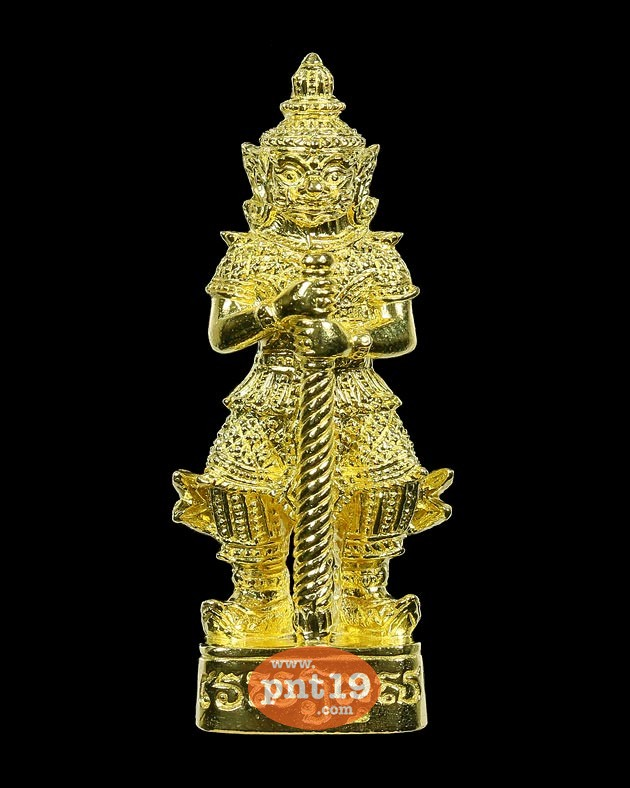 รูปหล่อลอยองค์ท้าวเวสสุวรรณ เนื้อทองระฆังโบราณ วัดอรุณฯ (วัดแจ้ง) วัดอรุณราชวราราม ราชวรมหาวิหาร