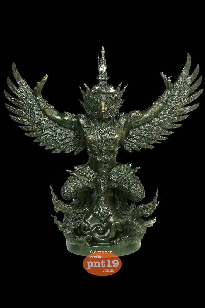 พญาครุฑ ยกฐานะ เนื้อสัมฤทธิ์เดช (ลองพิมพ์) เจิม พระมหาเป็นหนึ่ง วัดบรมวงศ์อิศรวรารามวรวิหาร