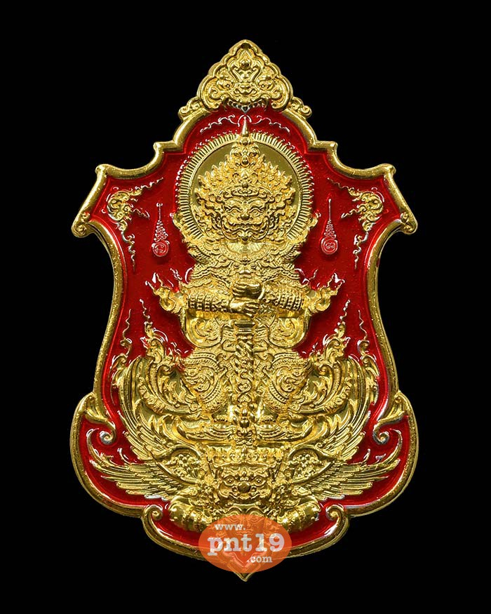 เหรียญท้าวเวสสุวรรณ ดวงเศรษฐี 05. ชุบ 2 กษัตริย์ ลงยา หลวงปู่พวง วัดโคกตาสิงห์(เทพนรสิงห์)