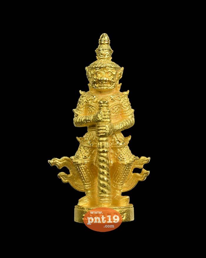 ท้าวเวสสุวรรณเปิดทรัพย์มหาราช กะไหล่ทอง หลวงปู่ชัชวาลย์ วัดบ้านปูน
