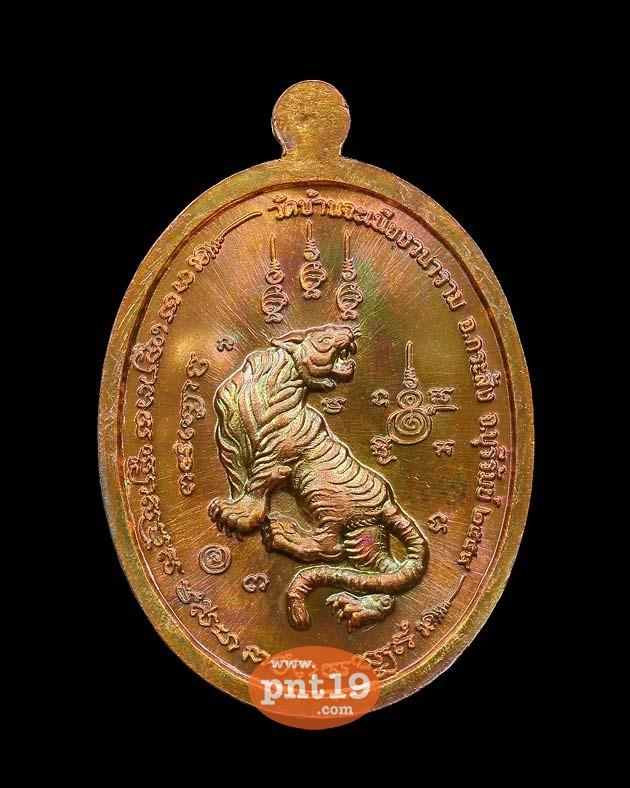 เหรียญเจ้าสัว เนื้อทองแดงมันปู หลวงพ่อเมียน วัดบ้านจะเนียงวราราม