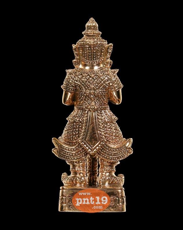 รูปหล่อลอยองค์ท้าวเวสสุวรรณ เนื้อทองแดง วัดอรุณฯ (วัดแจ้ง) วัดอรุณราชวราราม ราชวรมหาวิหาร