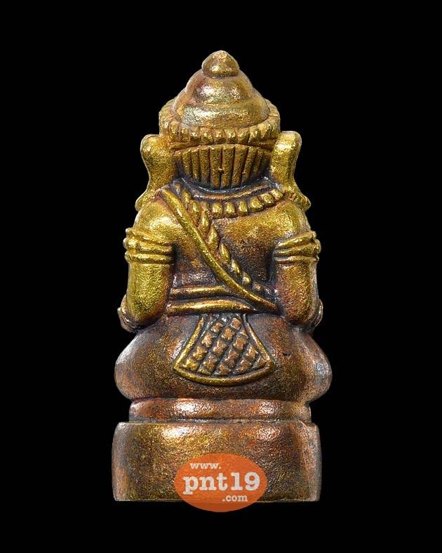 พระพิฆเนศ รุ่น๑ เนื้อทองผสม หลวงพ่อผล วัดลุ่มโพธิทอง