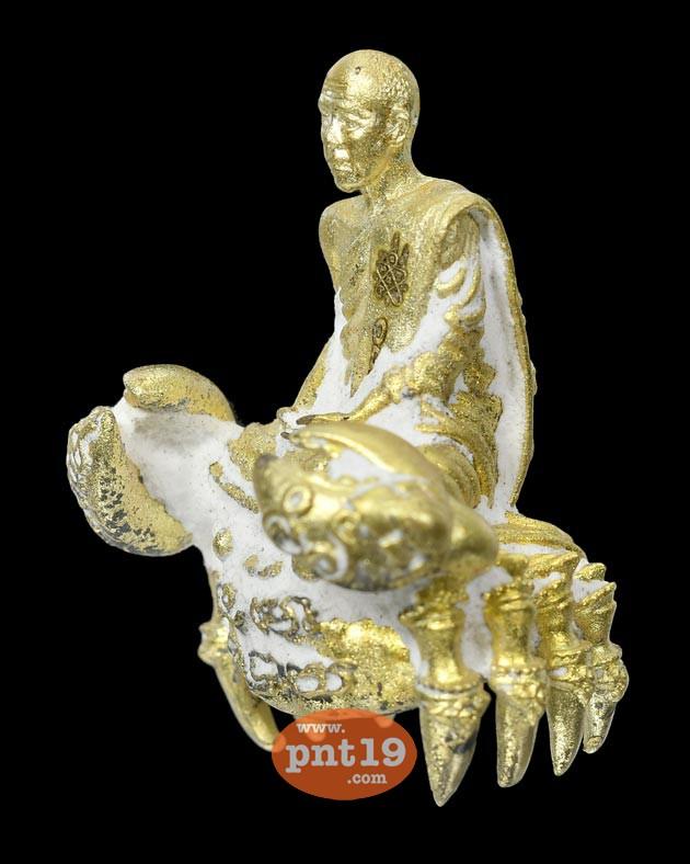 รูปหล่อชินบัญชรมนต์จินดามณี ขนาด 3.5 ซ.ม. 2.2 เนื้อสุพรรณพลูหลวงเบ้าไทย หลวงปู่นิ่ม วัดพุทธมงคล (หนองปรือ)