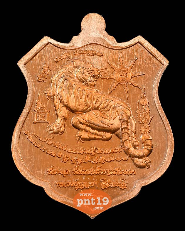 เหรียญพยัคฆ์บูรพา 12. ทองแดงผิวส้ม หลวงปู่บุญมา สำนักสงฆ์เขาแก้วทอง