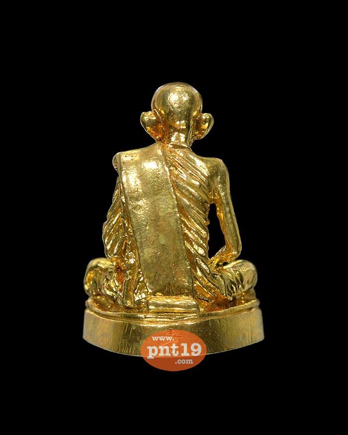 รูปหล่อฐานมะอะอุ ย้อนยุคพิมพ์นิยม รุ่น กตัญญู ทองฝาบาตร หลวงพ่อกวย ชุตินฺธโร วัดโฆสิตาราม (วัดบ้านแค)