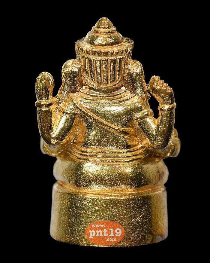 พระพิฆเนศสี่กร พลังสำเร็จเศรษฐี ทองผสม หลวงพ่อผล วัดลุ่มโพธิทอง
