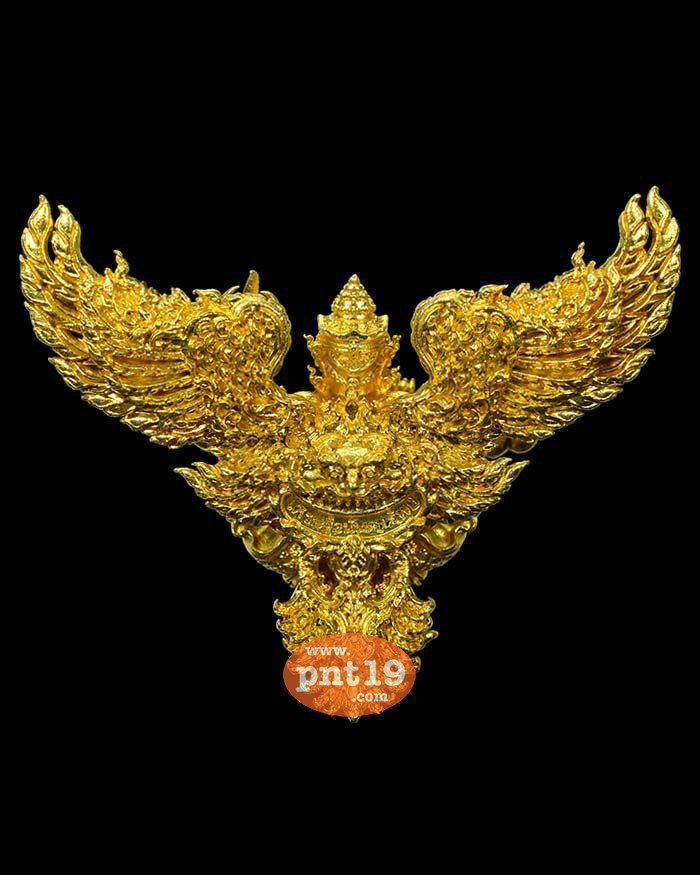 พญาครุฑเศรษฐีอนันตทรัพย์ ( 4 ซ.ม. ) 1.6 มหาชนวนทองจังโก้ พระอาจารย์วิรุต วัดสันมะเหม้า