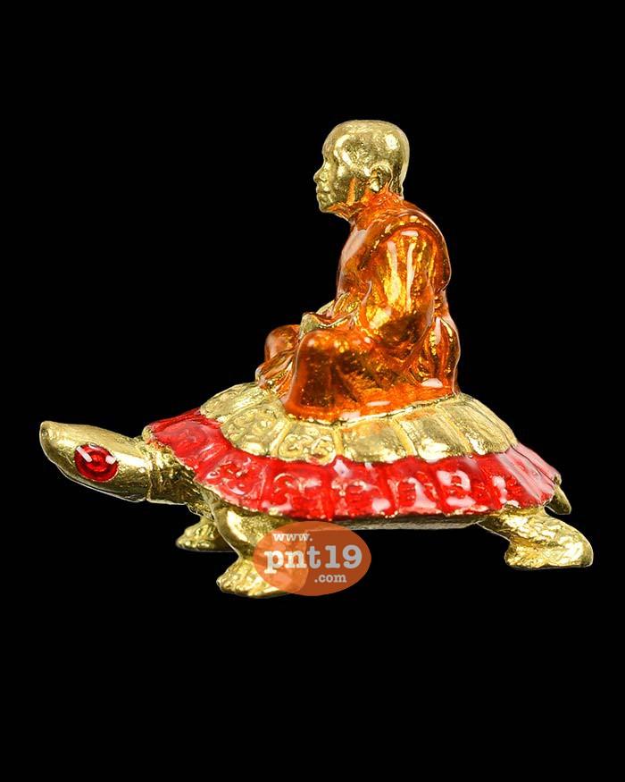 หลวงปู่พวงประทับเต่าเรือนเจ้าสัว ทองฝาบาตรลงยา อุดมวลสาร หลวงปู่พวง วัดโคกตาสิงห์(เทพนรสิงห์)