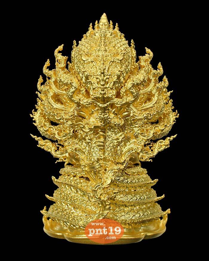 พระศรีศากยมุนี นาคราชบัลลังก์ 15. ชนวนมวลสารชุบทองคำ วัดพระธาตุพนมวรมหาวิหาร