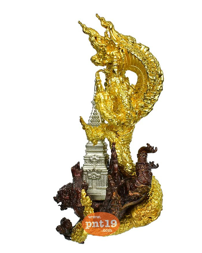 พุทธะอุรังคธาตุรฦก(5ซ.ม.) 27. พระธาตุไวท์บรอนซ์-นาคทองลำอู่-หนุมานสำริด วัดพระธาตุพนมวรมหาวิหาร