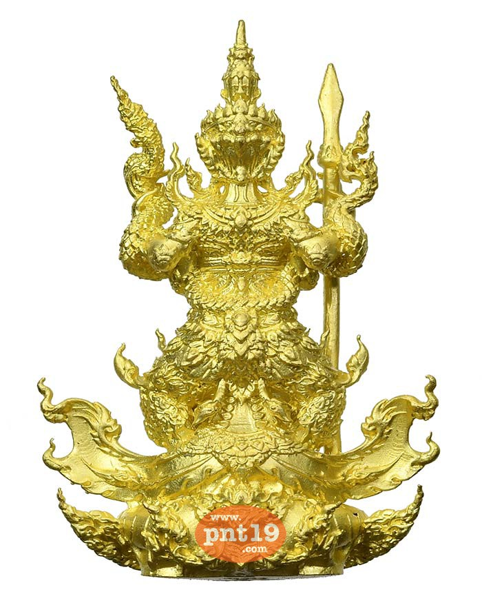 รูปหล่อท้าวเวสสุวรรณ มหาอำนาจ 7.5 ทองระฆังโบราณยิงทราย หลวงปู่พวง วัดโคกตาสิงห์(เทพนรสิงห์)