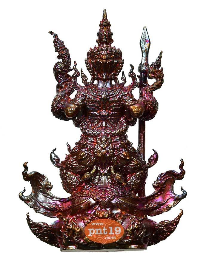 รูปหล่อท้าวเวสสุวรรณ มหาอำนาจ ประกายรุ้ง(1) หลวงปู่พวง วัดโคกตาสิงห์(เทพนรสิงห์)