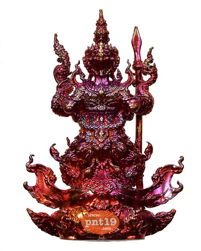 รูปหล่อท้าวเวสสุวรรณ มหาอำนาจ ประกายรุ้ง(2) หลวงปู่พวง วัดโคกตาสิงห์(เทพนรสิงห์)