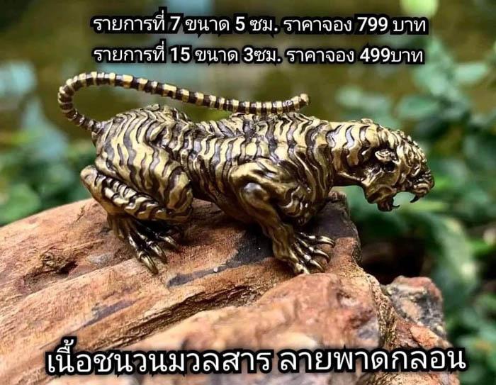 รุ่น เสืออโยธยา พระอาจารย์เลี้ยง วัดจอมเกษ